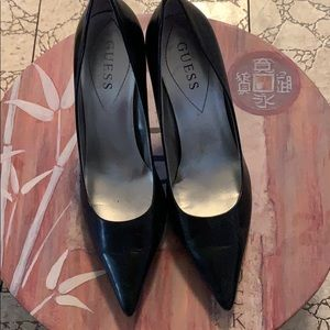 Soft Genuine Leather Guess heels 6.5M